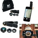 3 in 1 Clip On Phone Lens Set
