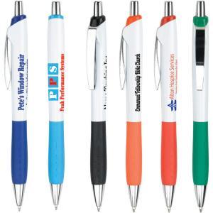 Spring Pocket Clip Retractable Pen