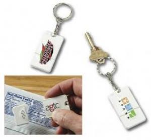 Slider Magnifier Keychain