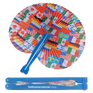 Flag Folding Fan