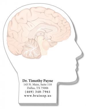 25 Sheet MRI Face Profile Sticky Notes