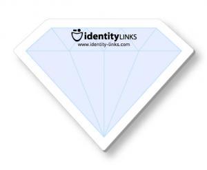 Crystal Shaped Sticky Notes Crystals and Diamond Sticky Note Set of 4
