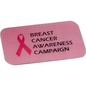 Breast Cancer Awareness Aluminum Business Cards