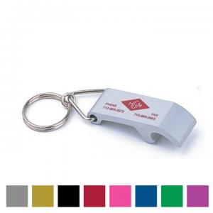 Alumicolor Bottle Opener Key Tag