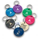 Alumicolor Large Round Key Tag