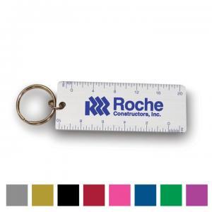 Alumicolor Combo Ruler Key Tag