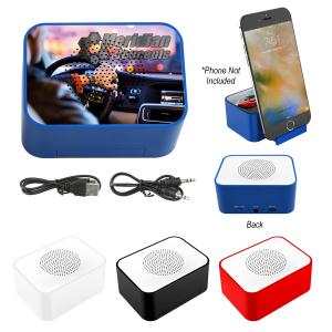 Velocity Wireless Speaker with Phone Stand