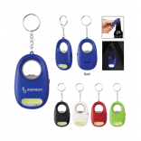 Draft LED Light Key Chain with Bottle Opener