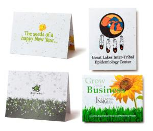 4 x 5 Eco Friendly Seed Paper Greeting Card