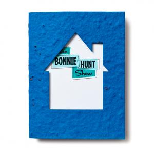 4 x 5 Eco Friendly House Shaped Plant Me Greeting Card