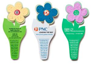 3 x 7 Eco Friendly Plantable Seed Paper Flower Bookmark