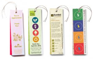 1 x 5 Small Eco Friendly Vellum and Plantable Seed Paper Bookmark