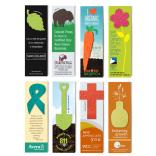 "2.25""x 7.75"" Eco Friendly Plantable Small Seed Paper Shape Bookmark"
