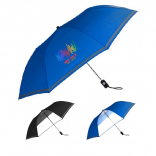 "44"" Reflective Drizzle Umbrella with See Thru Panel"