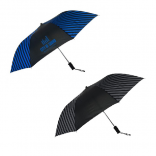"44"" Striated Auto Open Umbrella"