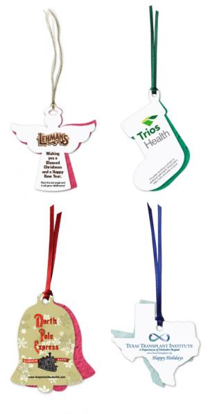 Eco Friendly Two Part Plantable Seed Paper Ornament