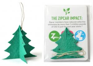 3 x 4 Eco Friendly 3D Tree Seed Paper Ornament Pack
