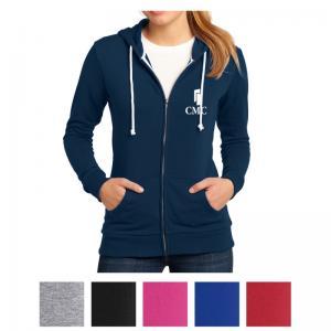 District Juniors' Core Fleece Full-Zip Hoodie