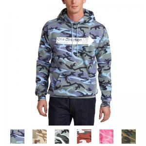 Port & Company Core Fleece Camo Pullover Hooded Sweatshirt