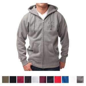 Independent Trading Company Men's Independent Heavyweight Zip Hooded Sweatshirt