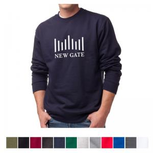 Independent Trading Company Men's Midweight Crew Neck Sweatshirt