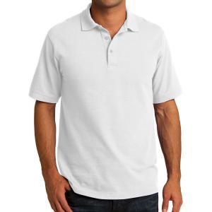 White Port & Company Core Blend Pique Polo