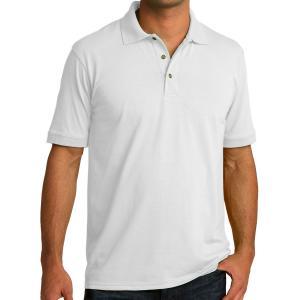 White Port & Company Core Blend Jersey Knit Polo