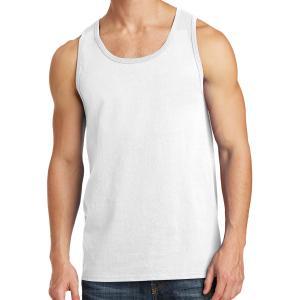 White Port & Company Core Cotton Tank Top