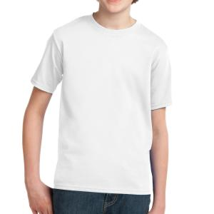White Port & Company Youth Essential T-Shirt