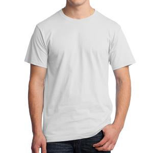 White Fruit of the Loom HD Cotton T-Shirt