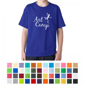 Gildan Youth Heavy Cotton T-Shirt - Colors