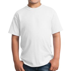 White Port & Company Youth Core Blend T-Shirt