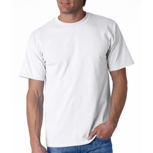 White Gildan Adult Ultra Cotton T-Shirt