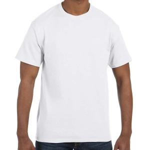 White Jerzees Adult Dri-Power Active T-Shirt