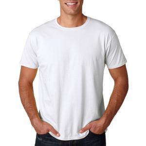 White Gildan Softstyle T-Shirt