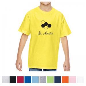 Hanes Youth Nano-T Cotton T-Shirt - Colors