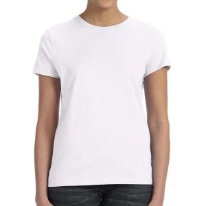 White Hanes Ladies' Nano-T Cotton T-Shirt