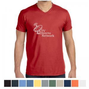 Hanes Men's Nano-T Cotton V-Neck T-Shirt
