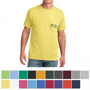 Port & Company Core Cotton Pocket Tee - Colors