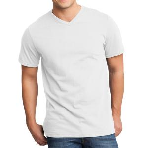 White District Young Men's Very Important Tee V-Neck