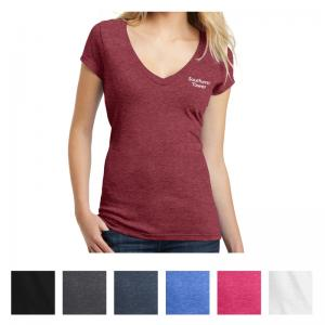 District Juniors' Very Important Tee Deep V-Neck