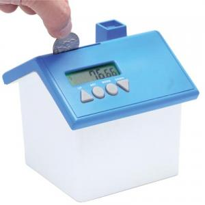 House Shaped Talking Coin Bank