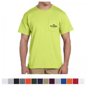 Jerzees Adult Dri-Power Active Pocket T-Shirt