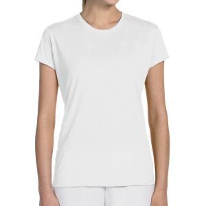 White Gildan Ladies' Performance T-Shirt