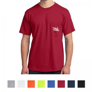Port & Company All-American Tee With Pocket