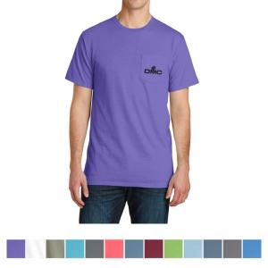 Port & Company Pigment-Dyed Pocket Tee
