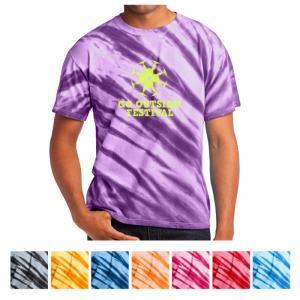 Port & Company Tiger Stripe Tie-Dye Tee
