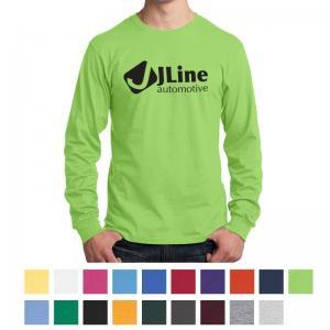 Port & Company Long Sleeve Core Cotton T-Shirt