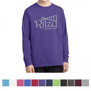 Port & Company Youth Long Sleeve Core Cotton T-Shirt