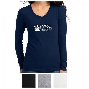 District Juniors The Concert Tee Long Sleeve V-Neck